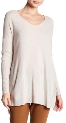 Sofia Cashmere Ribbed Cashmere Sweater