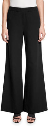 Lafayette 148 New York Wide-Leg Flared Pants $398 thestylecure.com