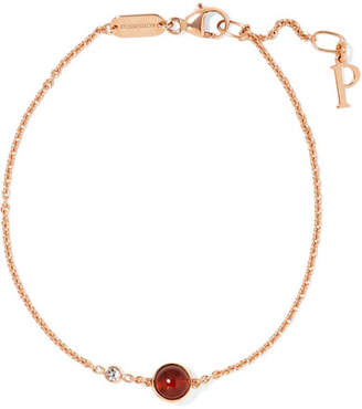 Piaget Possession 18-karat Rose Gold, Carnelian And Diamond Bracelet - one size