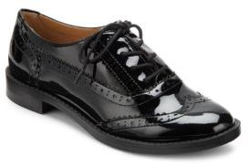 Illia Patent Lace-Up Loafers $60 thestylecure.com
