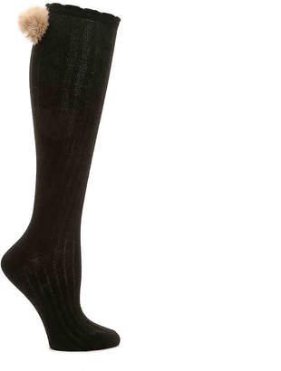 Jessica Simpson Pom Knee Socks - Women's