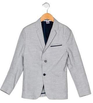 HUGO BOSS Boss by Boys' Notch-Lapel Button-Up Blazer