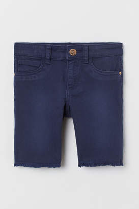H&M Long twill shorts