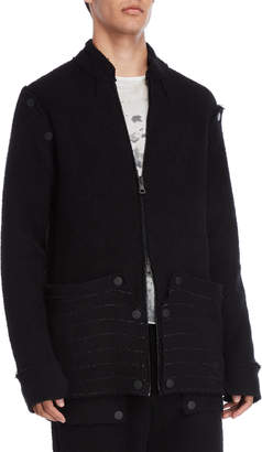 Kolonko Terry Loop Removable Sleeve Jacket