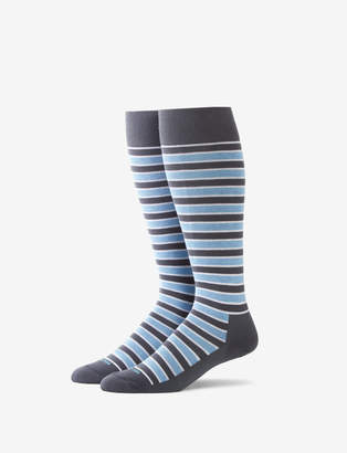 Tommy John Team Stripe Stay-Up Dress Sock