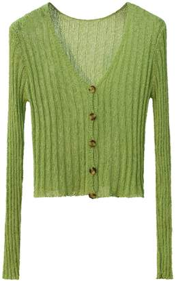 Goodnight Macaroon 'Helena' Lightweight Ribbed Cardigan (6 Colors)