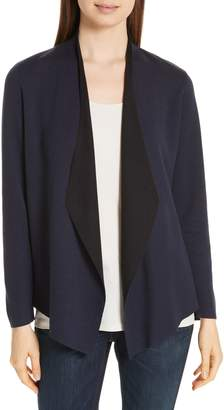 Eileen Fisher Shaped Waterfall Cardigan
