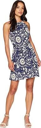 Lucky Brand Women's Knit SELF TIE Dress