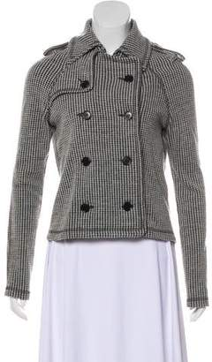 Etoile Isabel Marant Virgin Wool-Blend Long Sleeve Jacket