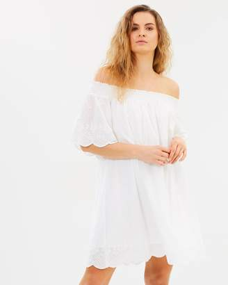 MinkPink Athena Broderie Anglaise Dress