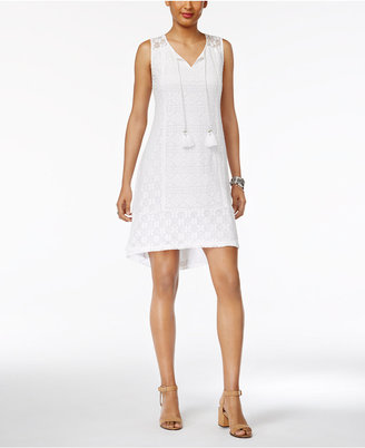 Style & Co Lace Shift Dress, Only at Macy's $59.50 thestylecure.com
