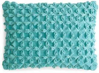 Sky Mia Textured Velvet Decorative Pillow, 14 x 20 - 100% Exclusive
