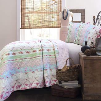 Cozy Line Home Fashion Wild Rose Enchantment Quilt Set