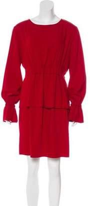 MM6 MAISON MARGIELA Long Sleeve Knee-Length Dress