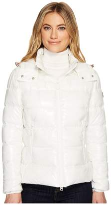 Save the Duck Short Coat with Removable Hood Women's Coat