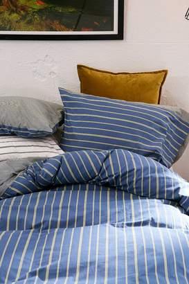 Reversible Stripe Duvet Cover