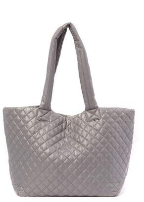 Do Everything in Love Quilted Nylon Large Tote Bag