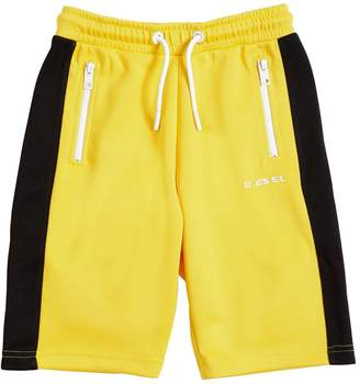 Diesel Cotton Blend Sweat Shorts