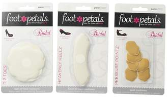 Foot Petals Wedding Day Collection - Tip Toes, Heavenly Heelz, Pressure Points Women's Insoles Accessories Shoes