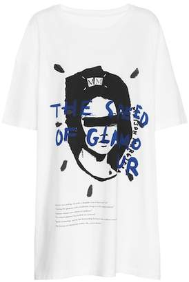 Maison Margiela Oversized printed cotton T-shirt