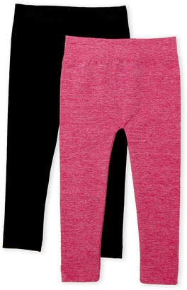 Capelli New York (Toddler Girls) Two-Pack Fleece Leggings