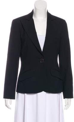 Trina Turk Notch-Lapel Long Sleeve Blazer