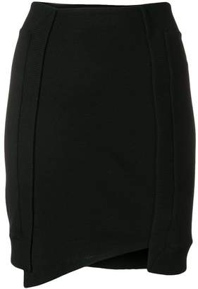 Paco Rabanne asymmetric mini skirt