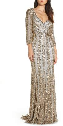 Mac Duggal Sequin Gown