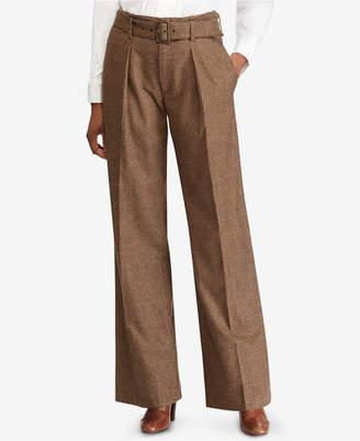 Polo Ralph Lauren Tweed Wide-Leg Pants