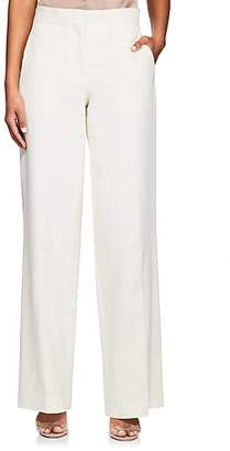 Helmut Lang WOMEN'S FLARED COTTON PANTS