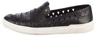 Via Spiga Cutout Slip-On Sneakers