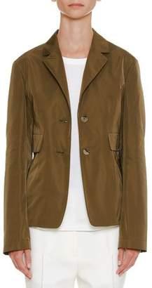 Jil Sander Long-Sleeve Two-Button Jacket