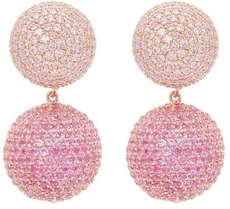 Anabela Chan 'Bauble' diamond sapphire detachable drop earrings