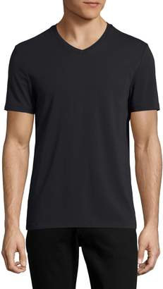 Perry Ellis Pima Cotton V-Neck T-Shirt