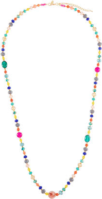 Emily and Ashley Greenbeads By Fiesta Beaded Long Necklace