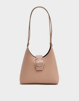 N゜44 Imago A N44 Lucite Buckle Mini Bag in Blush