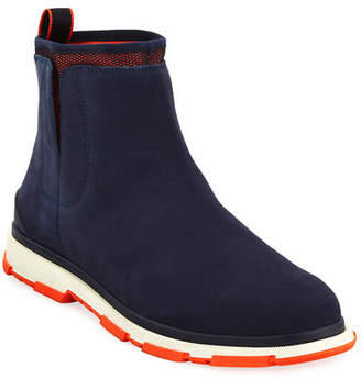 Swims Storm Chelsea Nubuck High-Top Sneaker