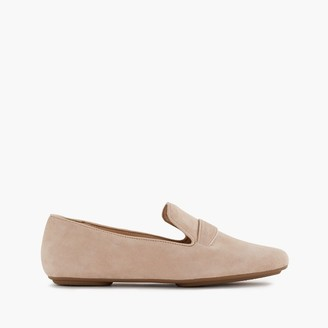 Georgie suede penny loafers $165 thestylecure.com