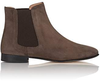 Barneys New York WOMEN'S SUEDE CHELSEA BOOTS