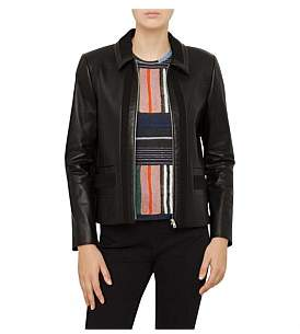 Paul Smith Leather Front Jacket