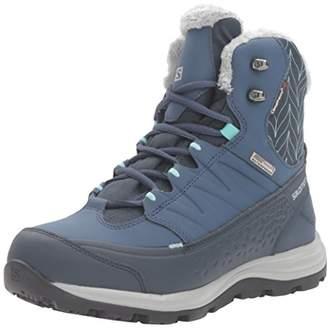 Salomon Women's Kaina Mid CS Waterproof 2-W Snow Boot