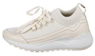 Buscemi Leather-Trim Low-Top Sneakers