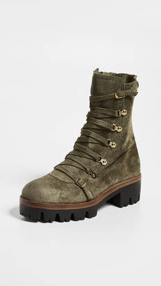 f5451d318a30 Jeffrey Campbell Leather Rubber Boots For Women - ShopStyle Australia