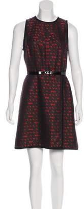 Miss Wu Sleeveless Mini Dress
