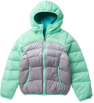 The North Face Moondoggy Water Repellent Reversible Down Jacket (Little Girls & Big Girls)