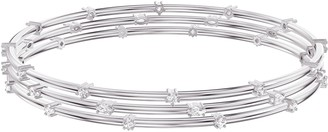 Swarovski x Penelope Cruz Moonsun 3-Piece Bangle Bracelet Set