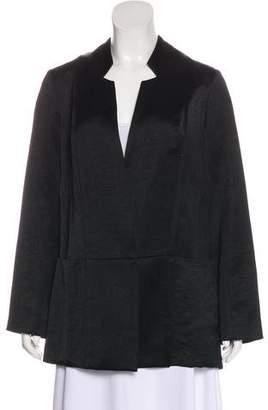 Zero Maria Cornejo Linen-Blend Coat