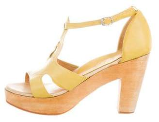 Rachel Comey Leather Platform Sandals