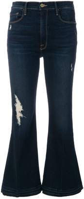 Frame cropped denim jeans