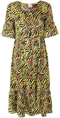 DAY Birger et Mikkelsen Ultràchic animals print shirt dress